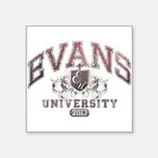 Evans last name University Class of 2013 Sticker