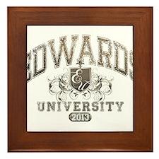 Edwards last name University Class of 2013 Framed
