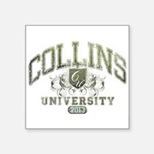 Collins last name University Class of 2013 Sticker