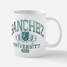 Sanchez last name University Class of 2013 Mug