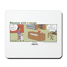City Librarians Mousepad