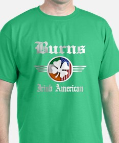 Irish American Burns T-Shirt