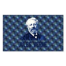Jules Verne in Blue Decal