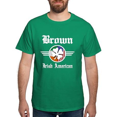 Irish American Brown T-Shirt