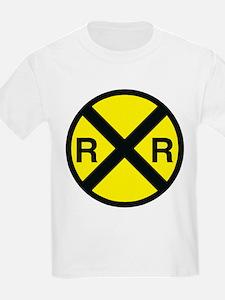 Railroad Crossing Kids T-Shirt