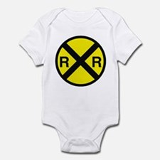 Railroad Crossing Infant Bodysuit