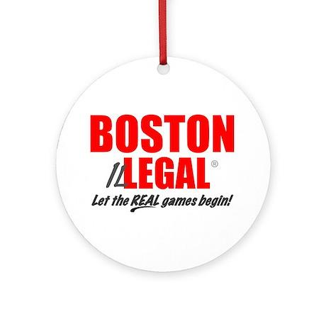 Boston Illegal Ornament (Round)
