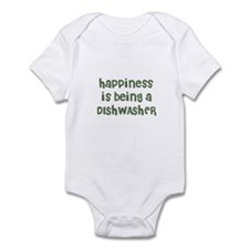 Happiness is being a DISHWASH Infant Bodysuit