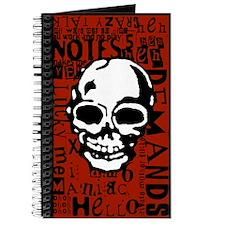 Manaics' Almanac Ransom Note Style Journal