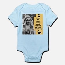 Chief Joseph Quote Body Suit