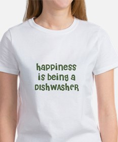 Happiness is being a DISHWASH Tee