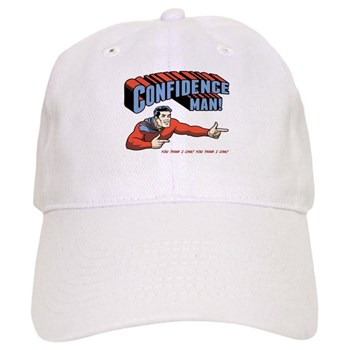 Confidence Man! Cap | Gifts For A Geek | Geek T-Shirts