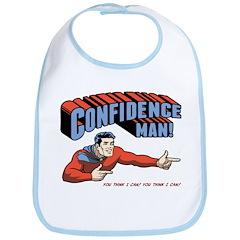 Confidence Man! Bib