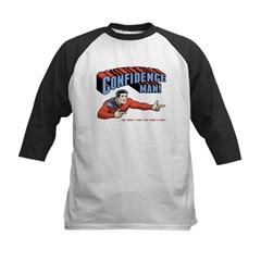 Confidence Man! Kids Baseball Jersey