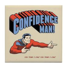 Confidence Man! Tile Coaster