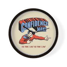 Confidence Man! Wall Clock