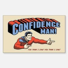 Confidence Man! Decal
