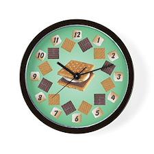 Smores Wall Clock