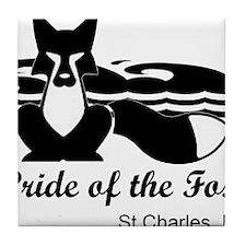 Pride of the Fox Tile Coaster
