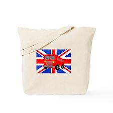 Bus in London Tote Bag