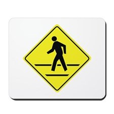 Pedestrian Crossing Mousepad