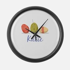 Easter Egg Katie Large Wall Clock
