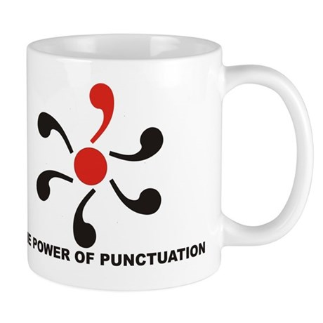 The Power of Punctuation 8 Mug