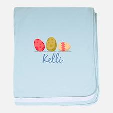 Easter Egg Kelli baby blanket