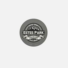 Estes Park Grey Mini Button