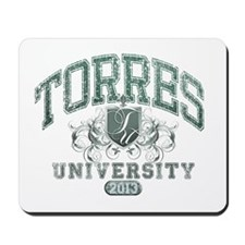 Torres last Name University Class of 2013 Mousepad
