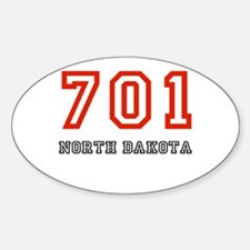 701 Oval Decal