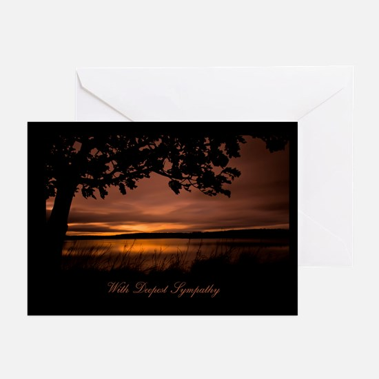 Sunset Sympathy Greeting Card (Pk of 10)