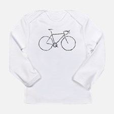 Impression of a Bicycle Long Sleeve T-Shirt