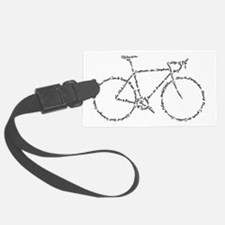 Word Bike Luggage Tag