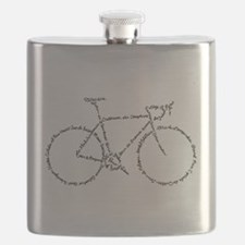 Word Bike Flask