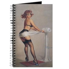 Classic Elvgren 1950s Pin Up Girl Journal