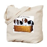 Cavalier king charles spaniel Bags & Totes