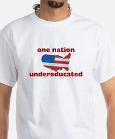 One Nation Undereducated T-shirt