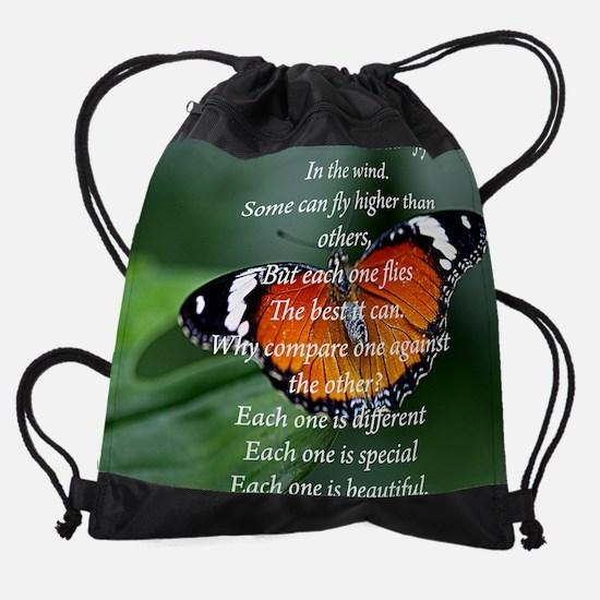 butterfly mousepad2.jpg Drawstring Bag