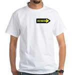 One Way White T-Shirt