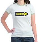 One Way Jr. Ringer T-Shirt