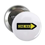 """One Way 2.25"""" Button (100 pack)"""