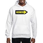 One Way Hooded Sweatshirt