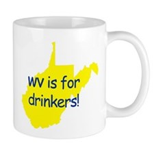 WV is for Drinkers Mazie Mug