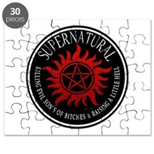 Supernatural protection Symbal Ring Patch 03 Puzzl