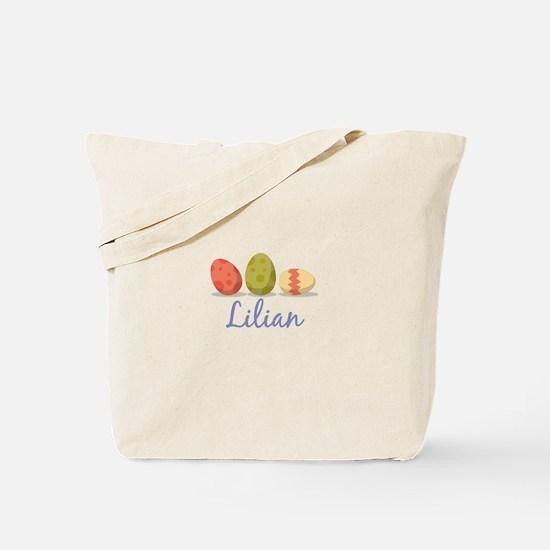 Easter Egg Lilian Tote Bag