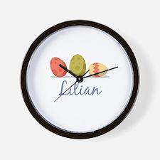 Easter Egg Lilian Wall Clock