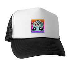 DJ Turntable and Balls Trucker Hat