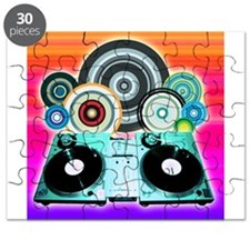 DJ Turntable and Balls Puzzle