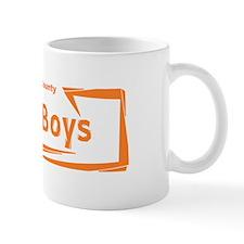Orange Lost Boys Logo Mug